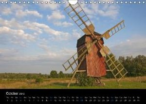 Southern Sweden (UK-Version) (Wall Calendar 2015 DIN A4 Landscap