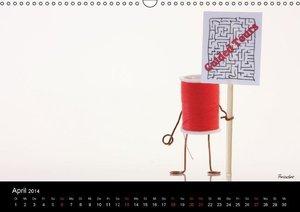 Haushaltshelden (Wandkalender 2014 DIN A4 quer)