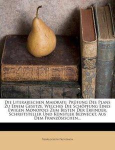 Die literarischen Majorate.