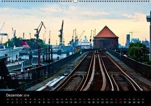 Hamburg HDR (Wandkalender 2016 DIN A2 quer)