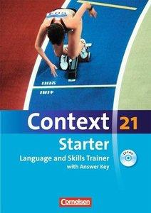 Context 21 Starter. Language and Skills Trainer. Workbook mit Lö