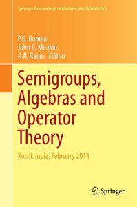 Semigroups, Algebra and Operator Theory