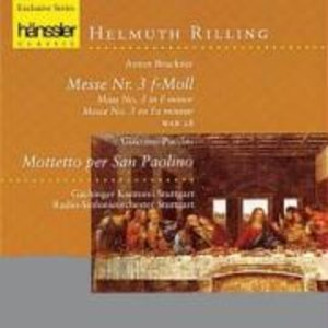 Messe 3 In f-moll/+
