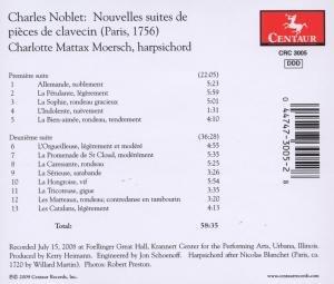 Nouvelles Suites De Pieces De Clavecin (1756)