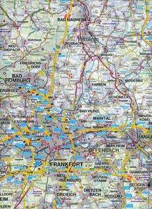 Rund um Frankfurt, Top 10 Tips, Autokarte 1:150.000