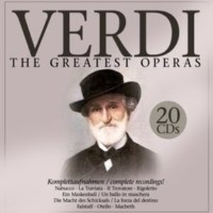 Verdi: The Greatest Operas.20 CDs.