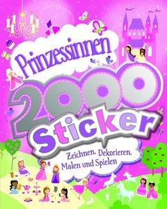 Prinzessinnen 2000 Sticker