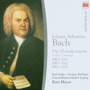 Violinkonzerte BWV 1041-1043