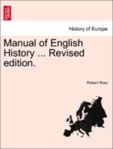 Manual of English History ... Revised edition.
