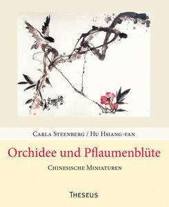 Orchidee und Pflaumenblüte