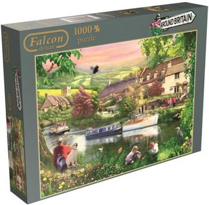 Falcon. Around Britain. Cotsworlds. Puzzle 1000 Teile