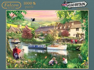 Falcon. Around Britain. Cotsworlds. Puzzle 1000 Teile