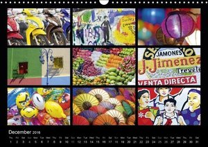 Colours (UK-Version) (Wall Calendar 2016 DIN A3 Landscape)