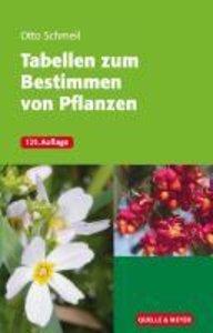 Tabellen zum Bestimmen von Pflanzen
