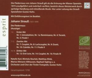 Esprit/Die Fledermaus (Highlights)