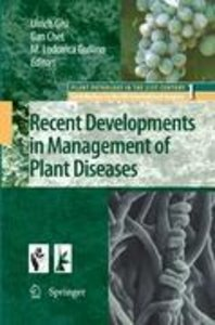 Recent Developments in Management of Plant Diseases