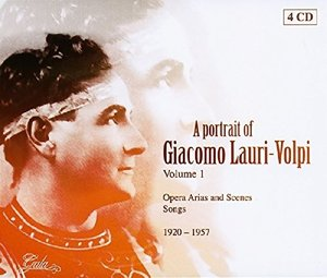 Portrait Of Giacomo Lauri-Volpi V.I