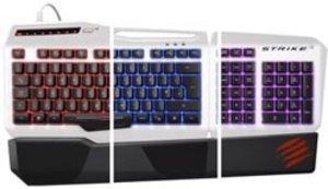 S.T.R.I.K.E. 3 Gaming-Keyboard, Spieletastatur, weiss