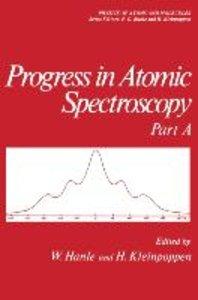 Progress in Atomic Spectroscopy
