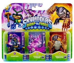 Skylanders Swap Force - Triple Pack F (Dune Bug, Phantom Cynder,