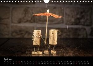 Crazy Corks - Four seasons in Corkland (Wall Calendar 2015 DIN A