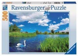 Ravensburger 14230 - Schwanenidylle, Puzzle, 500 Teile