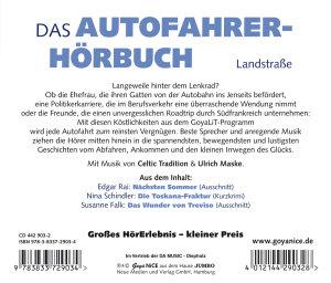 Das Autofahrer-Hörbuch.Landstrasse