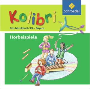 Kolibri 3/4. Das Musikbuch. Hörbeispiele. Grundschule. Bayern