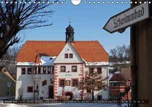 Rathäuser Mittel-Deutschlands (Wandkalender 2016 DIN A4 quer)