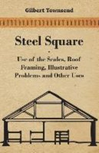 Steel Square - Use of the Scales, Roof Framing, Illustrative Pro