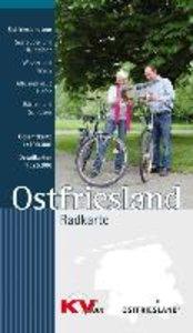 Ostfriesland Radkarte 1 : 100.000
