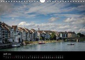 Bâle, une ville sur le Rhin (Calendrier mural 2015 DIN A4 horizo