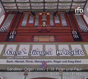 Die Sandter-Orgel Eichenzell,Fulda