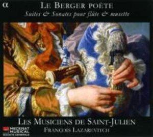Le Berger Poete-Suites Et Sonates Pour Flute Et