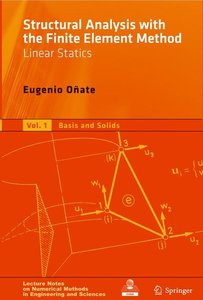 Structural Analysis with the Finite Element Method. Linear Stati
