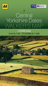 Walker's Map 07 Yorkshire Dales 1 : 25 000