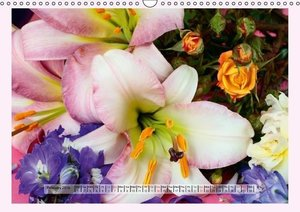 The Scent of Lilies (Wall Calendar 2016 DIN A3 Landscape)
