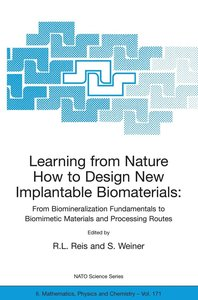 Learning From Nature How to Design New Implantable Biomaterials.