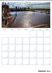Friesland - Nordseebad Dangast (Wandkalender 2016 DIN A2 hoch)