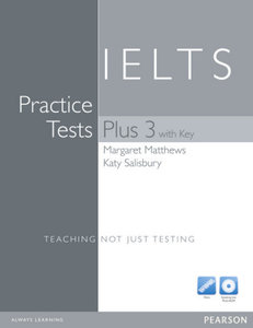 Practice Tests Plus IELTS 3 Book (with Key) and Multi-ROM