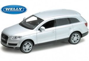 Cars & Co 327 3276 - WELLY: Audi Q7, silber