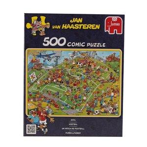 Jumbo Spiele 17276 - JVH: Fussballfieber, 500 Teile Puzzle