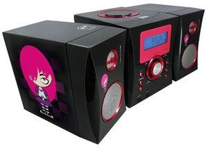 Kompaktanlage - Stereo Music Center MCD04 - EMO, schwarz
