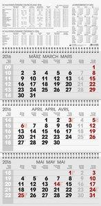 Wandkalender triplan 4 2016