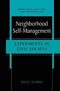 Neighborhood Self-Management