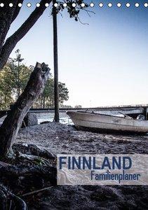 Finnland Familienplaner (Tischkalender 2016 DIN A5 hoch)