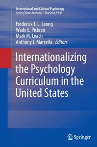 Internationalizing the Psychology Curriculum in the United State