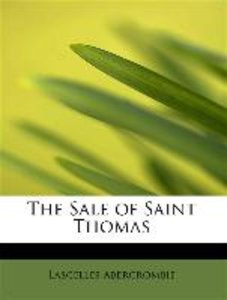 The Sale of Saint Thomas