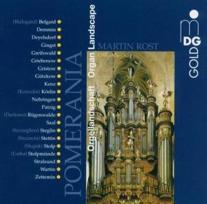 Orgellandschaft Pommern
