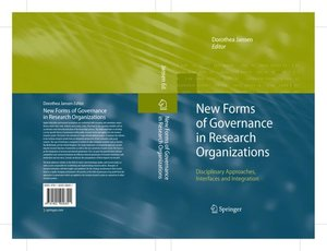 New Forms of Governance in Research Organizations